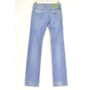 Miss Sixty Jeans - Miss 60 jeans 29 x 33 Akabis embroidery wide hems